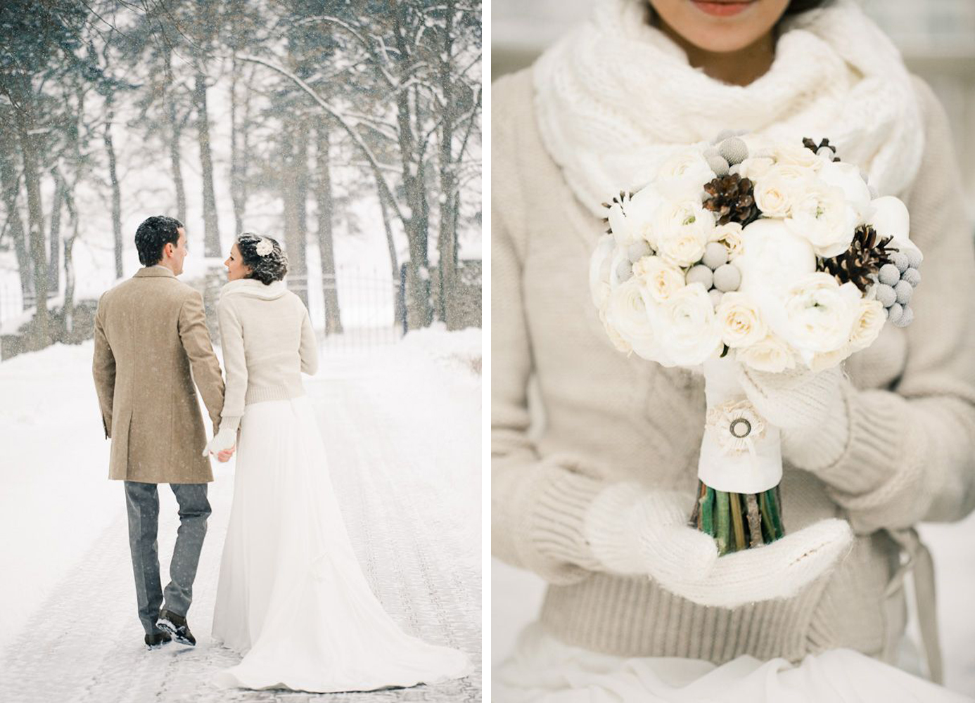 Winter wedding colors willow visuals junglespirit Images