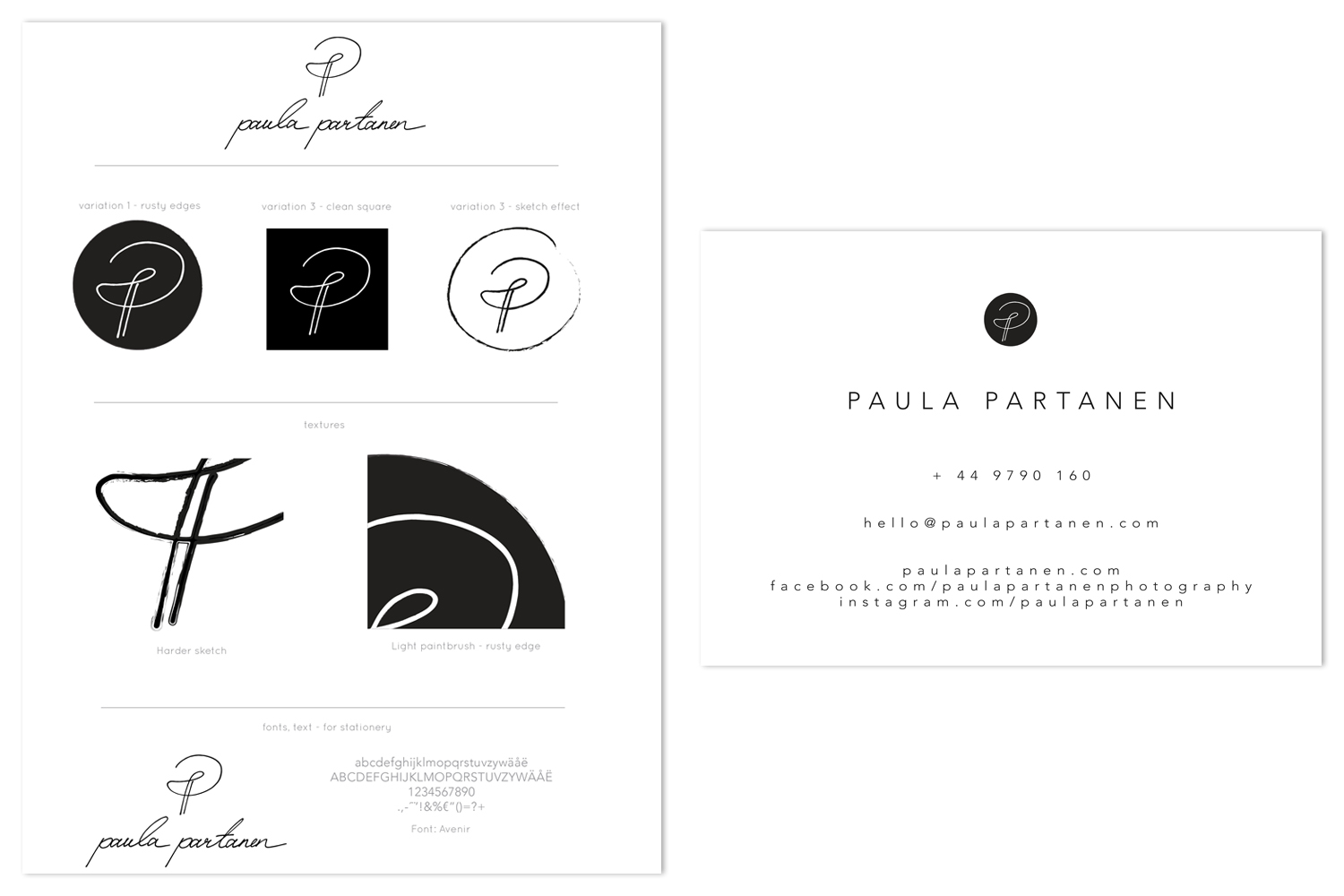 Graphic design_PaulaPartanenbrandboard