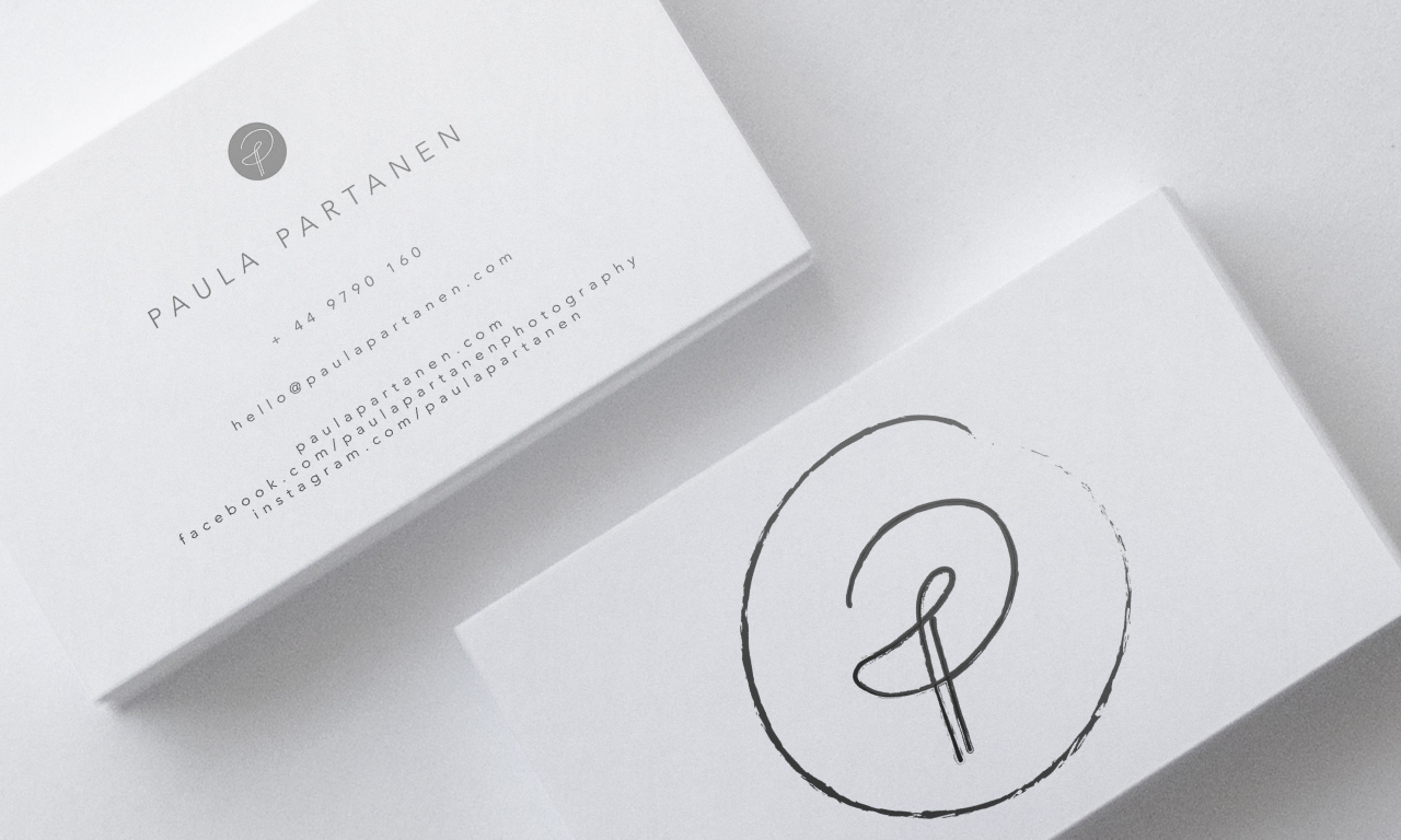 Graphic design_Paulapartanenbusinesscard