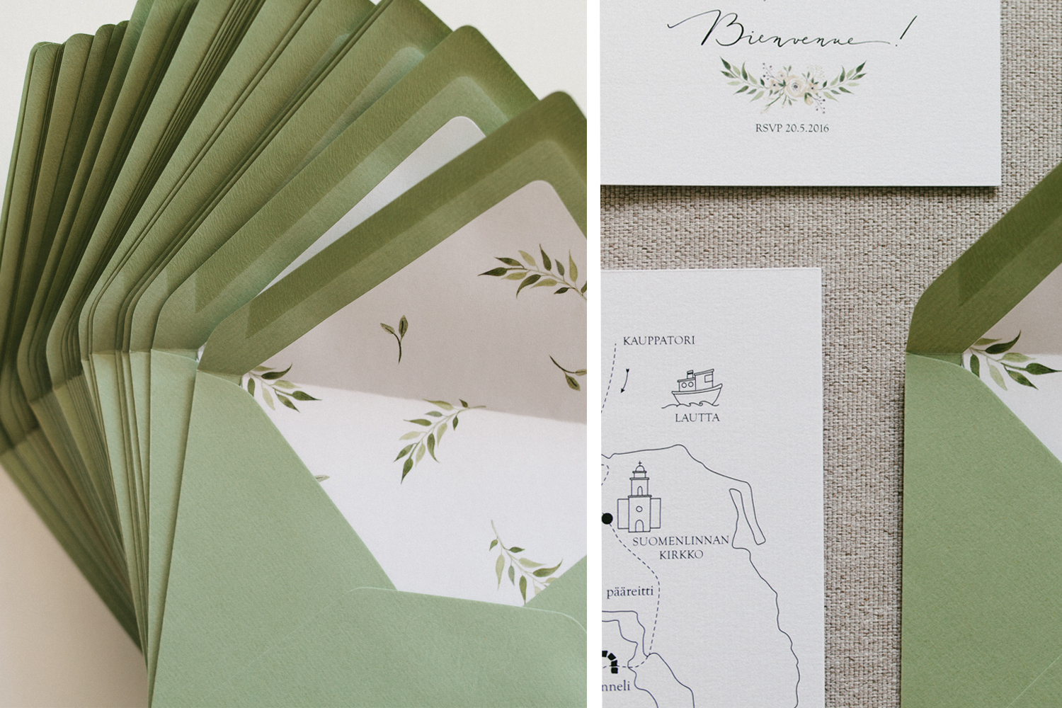 Willow visuals_green stationery blog1